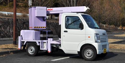 高所mini軽四輪高所作業車